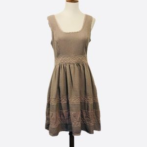 Jessica Simpson sleeveless cotton mini dress